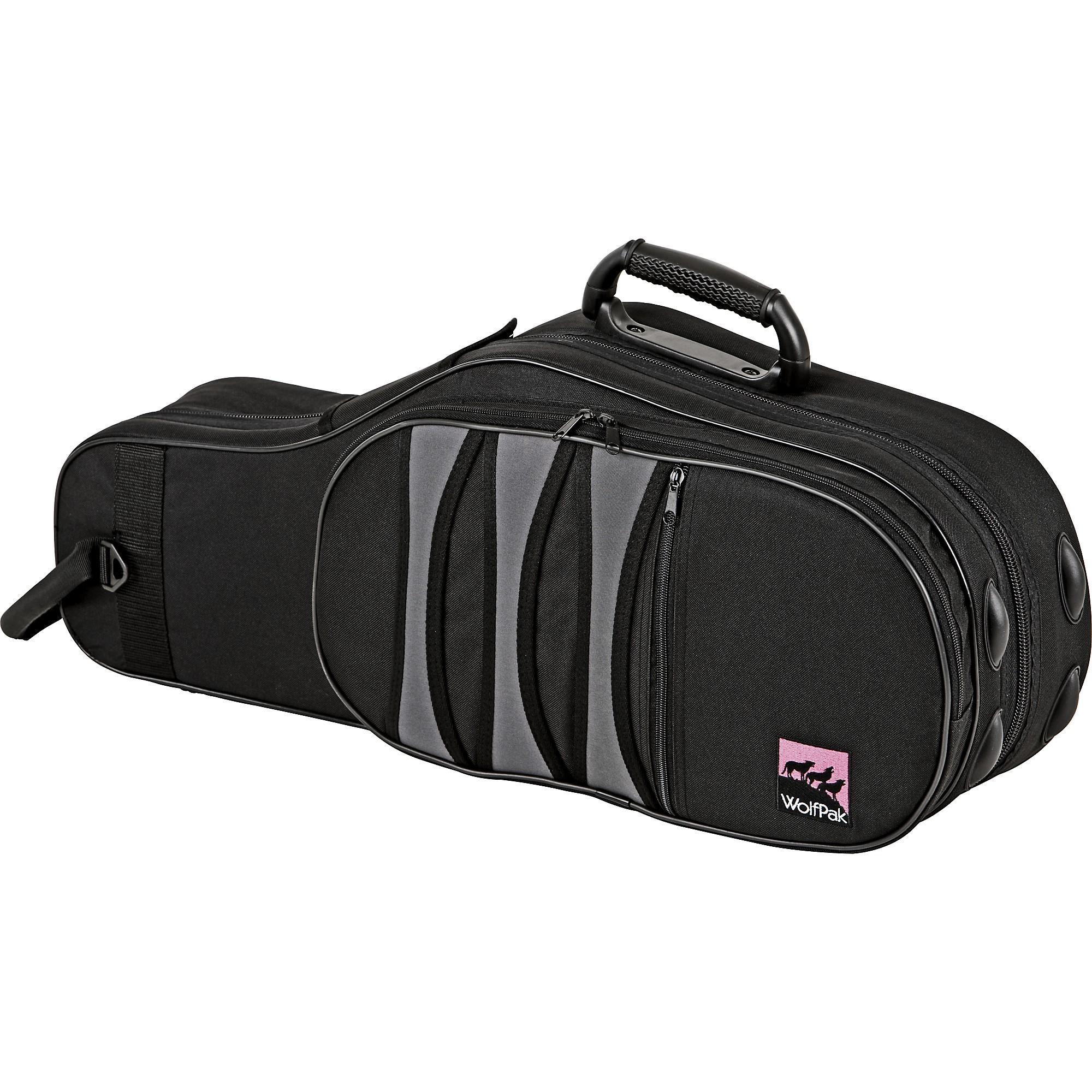 Polyfoam Alto Saxophone Case Black